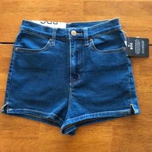 High Waisted Denim Shorts 27